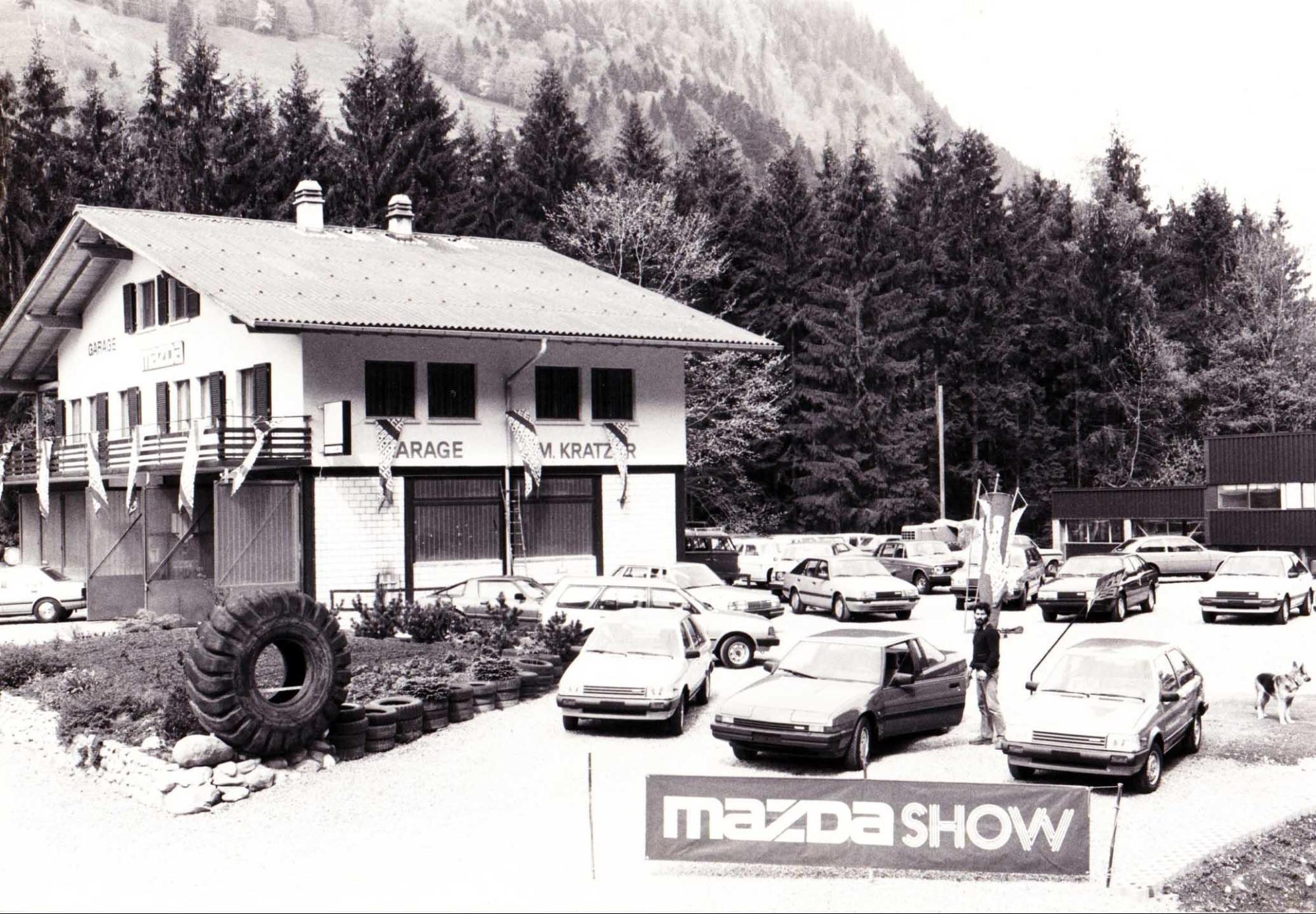 Garage und Carrosserie M. Kratzer AG 1977